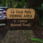 El Yunque National Forest - La Coca Falls - Puerto Rico