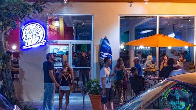 Café 413 in Rincón, Puerto Rico