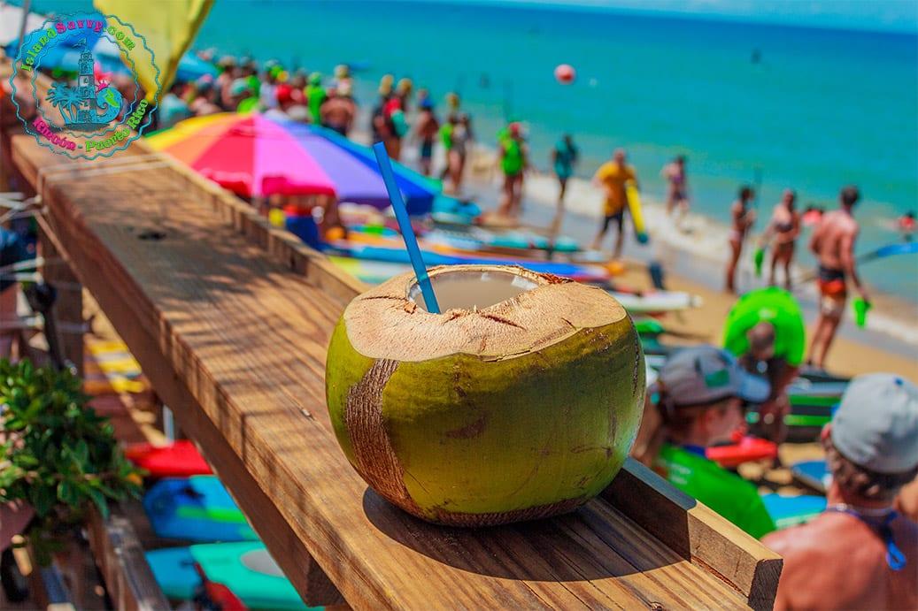 Coconut Drinks - Islandsavvy.com Rincón, Puerto Rico