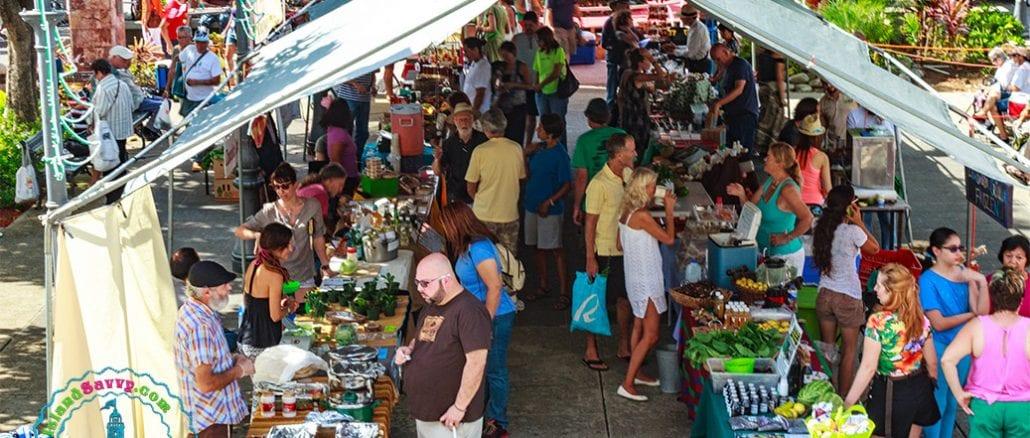Sunday Morning at the Rincón Farmers Market