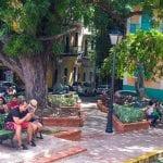 Old San Juan Puerto Rico - Plaza de la Catedral