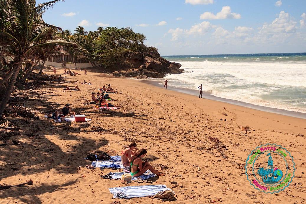 Sandy Beach In The Puntas Area Of Rincón
